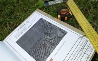 Градплан земельного участка образец