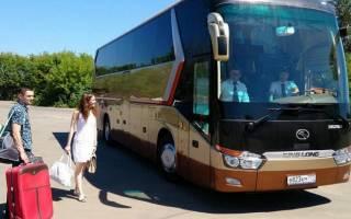Заказные перевозки пассажиров автобусами документы