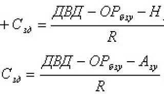 Стоимость права аренды земельного участка формула