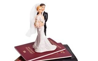 Список документов при смене фамилии при замужестве
