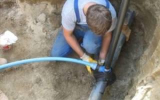 Незаконное подключение к водопроводу частного дома