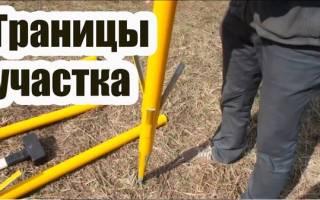 Описание местоположения границ земельного участка образец