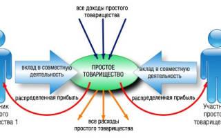 Договор простого товарищества образец заполненный