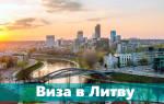 Документы на визу в Литву самостоятельно