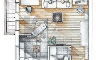 Как перепланировать однокомнатную квартиру?