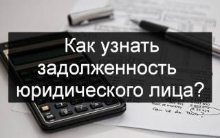 Реестр ФНС организаций имеющих задолженность по налогам
