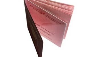 Пакет документов для оформления загранпаспорта нового образца