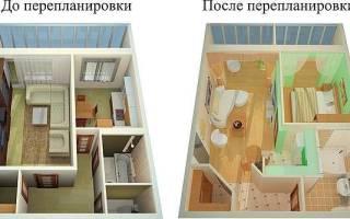 Куда можно перенести кухню при перепланировке квартиры?