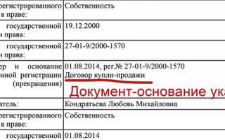 Справка о содержании правоустанавливающих документов образец