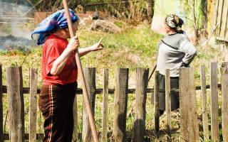 Межевание земельного участка споры с соседями
