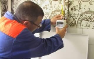 Срок действия газового счетчика в частном доме