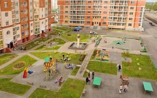 Озеленение придомовой территории многоквартирного дома нормы